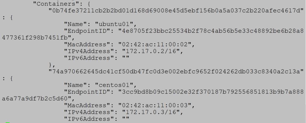 Docker network