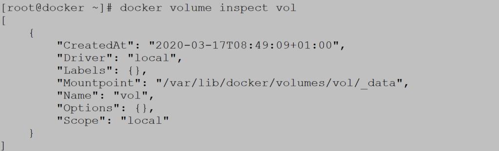 Docker inspect